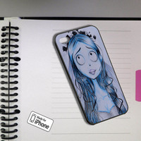Tim Burton Corpse Bride Art To Device Case Samsung Galaxy S2/S3/S4 and iPhone 4/4s/5/5c/5s