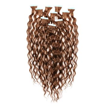 Curly Tape-In Hair Extensions