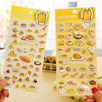 1 x cartoon Gudetama paper sticker DIY decoration sticker for album scrapbooking diary kawaii stationery