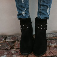 Bandit Studded Bootie - Black - FINAL SALE