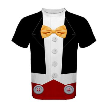 Men's Tuxedo Mickey Mouse Inspired Shirt