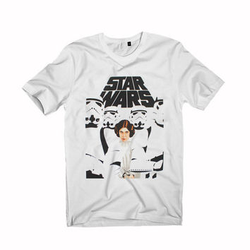 Star Wars Leia Trooper Princess Leia For T-Shirt Unisex Aduls size S-2XL
