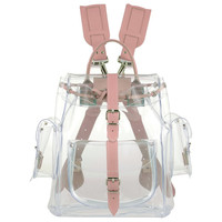 Grafea Crystal Clear Pink Backpack
