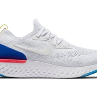 Mens NIKE Epic React Flyknit White US12.5 BRAND NEW WITH TAGS