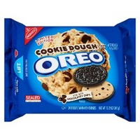 Nabisco Oreo Cookie Dough Chocolate Sandwich Cookies 12.2 oz