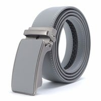 Men's Genuine Leather Belt Casual Leather Belt Men Luxury Brand Designs Automatic Buckle Fashion Belt Waist 3.4 Width