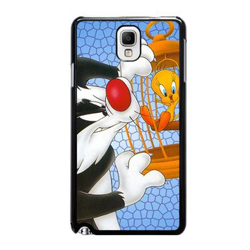 SYLVESTER AND TWEETY Looney Tunes Samsung Galaxy Note 3 Case Cover