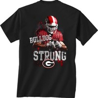 UGA Bulldog Strong T-Shirt | Georgia Bulldogs Apparel | UGA Men's T-Shirt