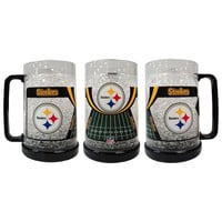 16Oz Crystal Freezer Mug NFL - Pittsburgh Steelers