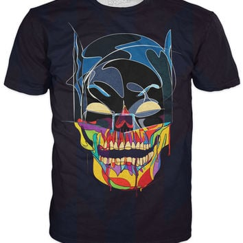 Batman Face Skull T-Shirt