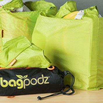 Reusable Bag Set of 10 by BagPodz