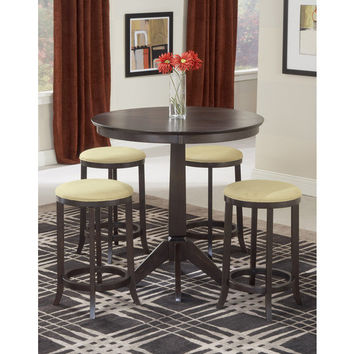 4917 Tiburon Pub Table With 4 Backless Stools - Free Shipping!