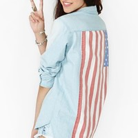American Summer Denim Shirt