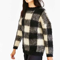 Just Female Check Sweater