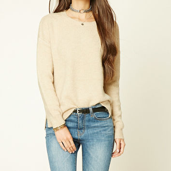 Heathered Oversized Sweater