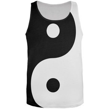 Yin Yang All Over Adult Tank Top