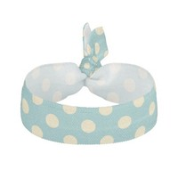 cute teal and buttercup yellow polkadots