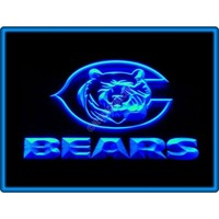 Chicago Bears American Football Neon Light Sign