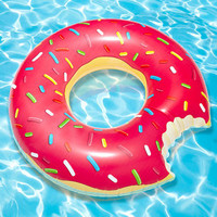 FredFlare.com - Gigantic Donut Pool Float - Donut Inner Tube