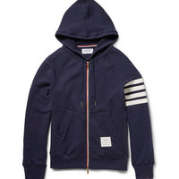 Thom Browne - Loopback Cotton-Jersey Hoodie | MR PORTER