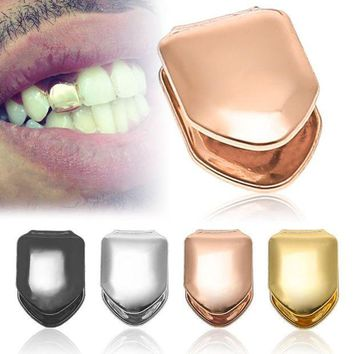 ac PEAPO2Q GENBOLI Trendy Rock Hip Hop Halloween Jewelry Single Tooth Caps Teeth Top Party Funny Tooth Accessories Small Size Portable Hot
