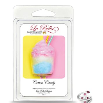 Cotton Candy Scented Jewelry Tart Melts