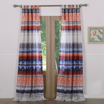 Greenland Home Fashions Urban Boho Curtain Panel Pair | Overstock.com Shopping - The Best Deals on Curtains