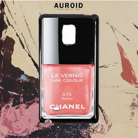 Chanel Nail Polish Starlet Samsung Galaxy Note 5 Edge Case Auroid