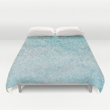 Polygonal A3 Duvet Cover by VanessaGF