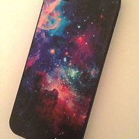 GALAXY NEBULA SPACE STAR VINTAGE UNIVERSE HARD CASE FOR IPHONE 4 4S + 5 5S