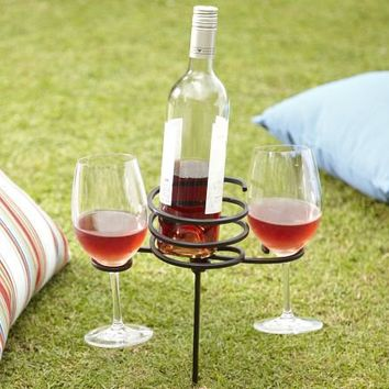 Picnic Beverage Stake | Pottery Barn