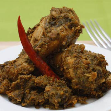 Recipes - Chicken Niblets (Wings) in a Green Sauce