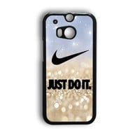 Nike Jordan Mint Wood HTC One M8 Case