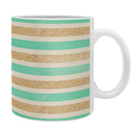 Allyson Johnson Glitter And Mint Coffee Mug