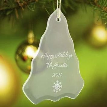 Glass Ornament - Tree Shaped