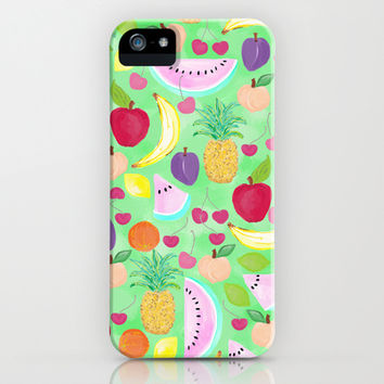 Fruit Punch iPhone & iPod Case by Lisa Argyropoulos