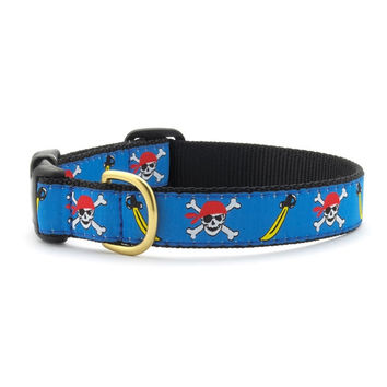 Pirate Skulls Dog Collar