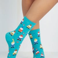 Fairytale Make Yourself Gnome Socks by ModCloth