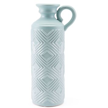 Blue Herringbone Bottle, Large