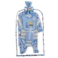 9pc Blue Traffic Set 3 6m 382282367 | Gift Sets | Baby Boy Clothes | Clothing | Burlington Coat Factory