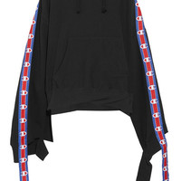 Vetements - + Champion cotton-blend jersey hooded top