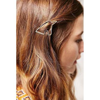 Gold Unicorn Hairpin