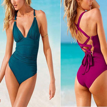 Beach Summer New Arrival Hot Sexy Swimsuit Swimwear Ladies Bikini [6047417409]