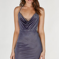 Go Deep Open Back Dress