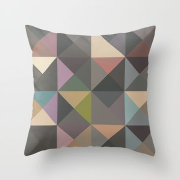 The Nordic Way XIII Throw Pillow by Metron