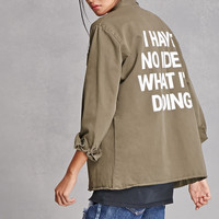 Jac Vanek Patch Cargo Jacket