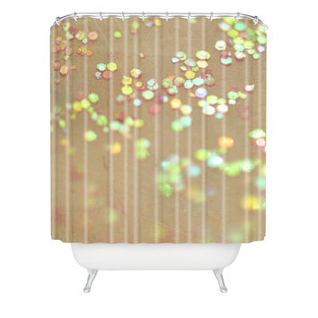 Lisa Argyropoulos Vintage Confetti Shower Curtain