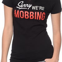 Married To The Mob Mobbin' Black Tee Shirt at Zumiez : PDP