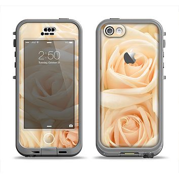 The Subtle Roses Apple iPhone 5c LifeProof Nuud Case Skin Set