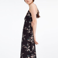 FLORAL CAMISOLE DRESS